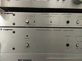 Amplificador Cygnus Pa 400 Serve Gradiente Polivox Quasar