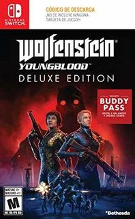 Juego Wolfenstein: Youngblood Descargable De Nintendo Switch