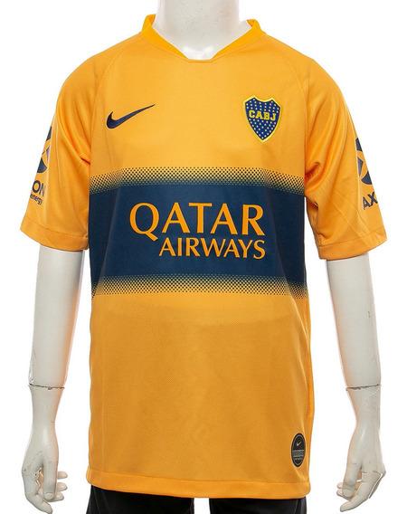 Camiseta Boca Juniors Away Stadium Kids Nike
