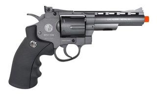Revolver Pressão Co2 Rossi M701 Full Metal 4.5mm Esferas Aço
