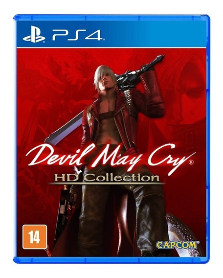 Jogo Devil May Cry Hd Collection Ps4