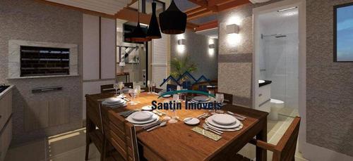 Apartamento Sem Condomínio Com 02 Quartos, ( 01 Suíte ) Vaga Coberta À Venda, 50 M² Campestre - Santo André/sp - Ap1392