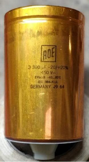 Capacitor Electrolitico Roe 3300uf - 450v