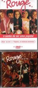 Kit Com 1 Dvd + 1 Cd Rouge - O Sonho De Ser Uma Popstar