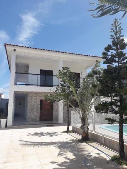 Casa Em Portal Do Poço, Cabedelo/pb De 200m² 4 Quartos À Venda Por R$ 390.000,00 - Ca375356