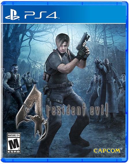 Resident Evil 4 Remastered Ps4 Psn Code 1 Envio Na Hora!