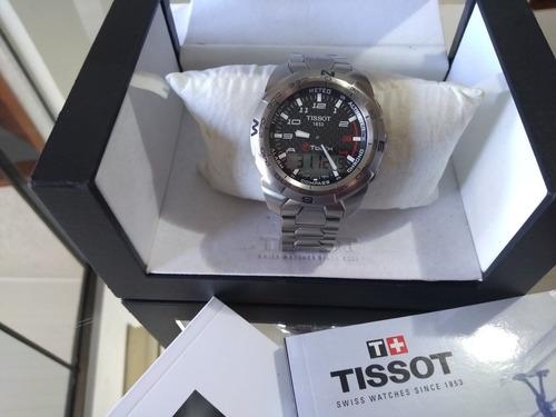 Relogio Tissot Touch Titanium Expert2  100% Original Zerado