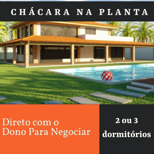 Imagem 1 de 5 de Vem Realizar Seu Sonho Com A Gente!!! Chácaras Prontas