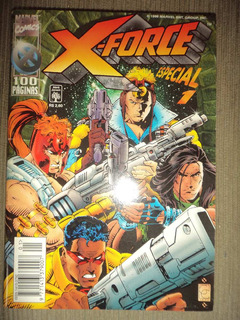 X Force Especial 1 Editora Abril 1996 Excelente