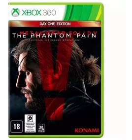 Metal Gear Solid V The Phantom Pain - Xbox 360 -mìdia Fìsica