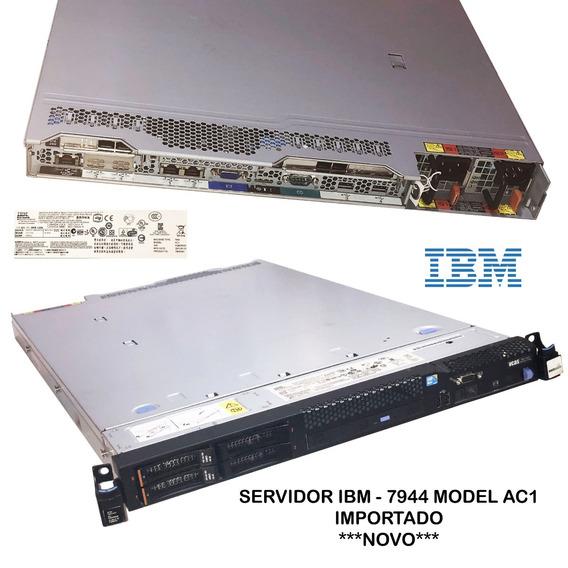 Servidor Ibm - 7944 Model Ac1 + 2hds 146gb- Com Acessórios