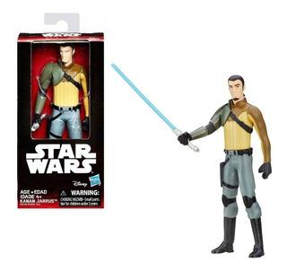 Muñeco Star Wars Rey-kanan-finn-han Solo 15cm Hasbro