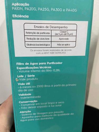 Refil Filtro Electrolux- Linha Pa-10,29,25,30,40