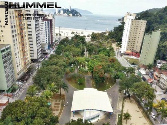 Apartemento Na Biquinha Em São Vicente - Mh53