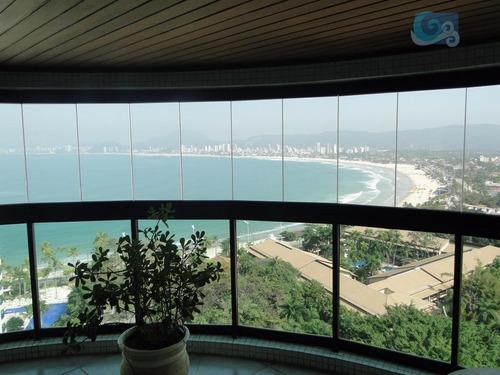 Imagem 1 de 29 de Tortugas Apartamento À Venda Condomínio Tortugas - Guarujá. - Ap4402