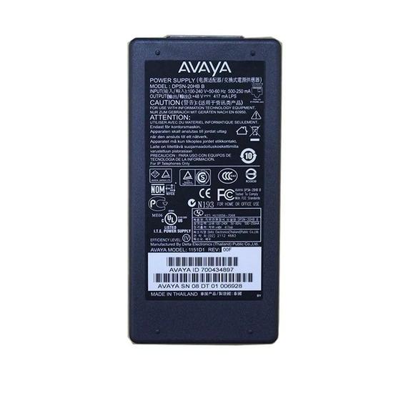 Avaya 1151 1 48v Dc Fonte De Alimentação Para 4606 4612 4624