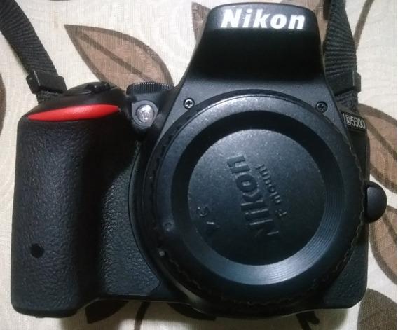 Câmera Nikon D5500 Kit Com Af-s 18-55mm + Afs 55-200mm