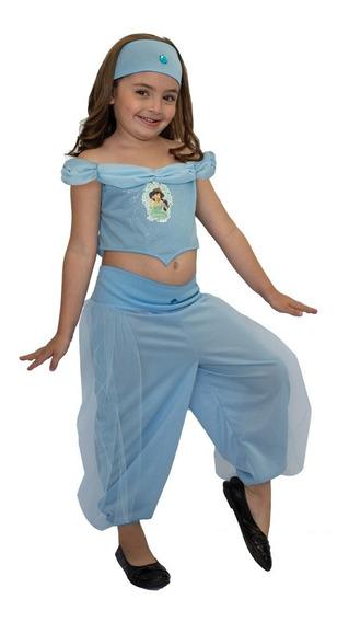 Disfraz De Jazmin Licencia Disney Original New Toys