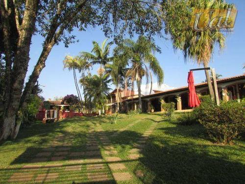 Imagem 1 de 30 de Chácara Com 3 Dormitórios À Venda, 3000 M² Por R$ 1.500.000,00 - Jardim Estância Brasil - Atibaia/sp - Ch0015