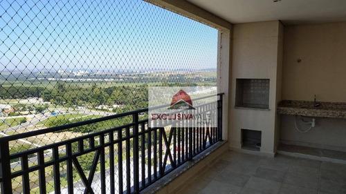 Apartamento, 157 M² - Venda Por R$ 1.430.000,00 Ou Aluguel Por R$ 5.100,00/mês - Jardim Esplanada - São José Dos Campos/sp - Ap1280