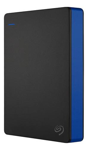Imagen 1 de 4 de Disco duro externo Seagate Game Drive for PS4 STGD4000400 4TB negro