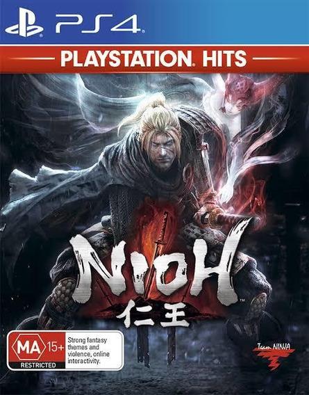 Nioh - Ps4 - Novo - Lacrado