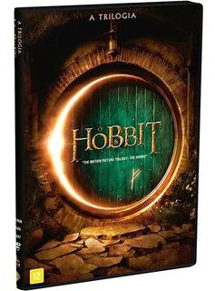 O Hobbit Trilogia Box 3 Filmes Dvds Coleção Original Lacrado