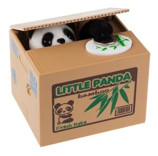 Alcancia Roba Monedas Little Panda