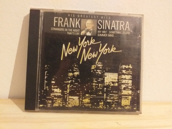 Frank Sinatra New York New York Cd Aleman Greatest Hits