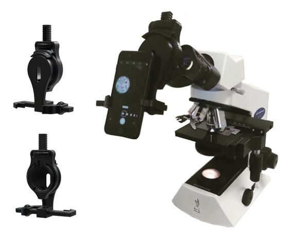 Adaptador Suporte Universal Celular Microscópio Telescópio