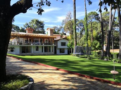Hermosa Casa En Venta En Lujoso Residencial En Avandaro