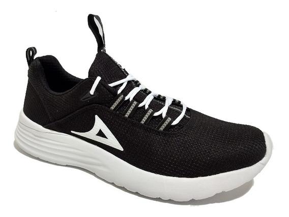 Tenis Pirma Running 248 Negro/blanco