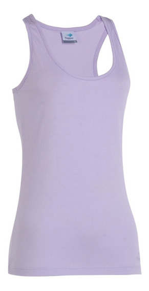 Remera Topper Tank Top Basico Casual Mujer