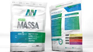 3 Hipercalórico Massa 45000 3kg Natures Nutrition