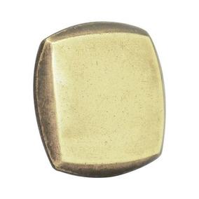 Botón O Perilla Moderno Tipo 02 Latón Antiguo Lock