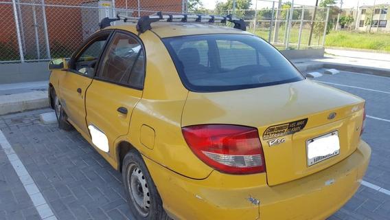 Taxi Kia Rio Modelo 2012