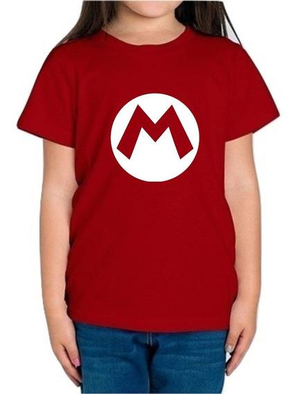 Playera Super Mario Bros Niña