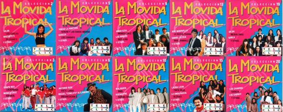 La Movida Tropical Compilados Lote De 10 Cd