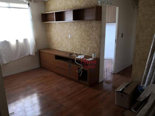 Apartamento Para Alugar, 55 M² Por R$ 1.100,00/mês - Vila Guedes - São Paulo/sp - Ap0860