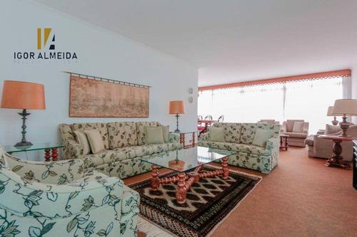 Apartamento Com 3 Dormitórios À Venda, 256 M² Por R$ 2.200.000,00 - Higienópolis - São Paulo/sp - Ap47730