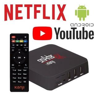Tv Box 4k 1gb Ram Hdmi Usb 8gb Kanji Smarter - Rosario