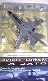 Miniatura Jato De Combate Tornado Cinza