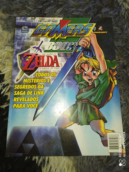 Gamers Book - The Legend Of Zelda: Ocarina Of Time N64 Link