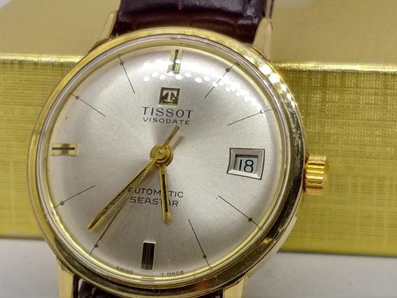 Relógio Tissot Seastar Swiss/ Ouro- Automático