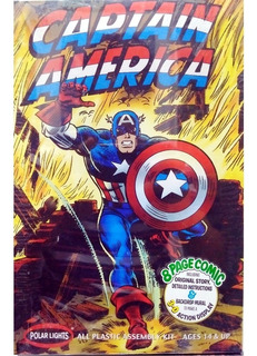 Capitan America Para Armar Polar Lights