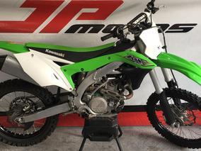 Kawasaki Kx 450 F 2017 Verde Oficial Com Di