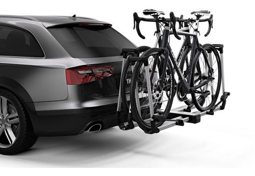 Imagen 1 de 2 de Portabicicletas Thule Helium Platform (2 Bicicletas)  Plata