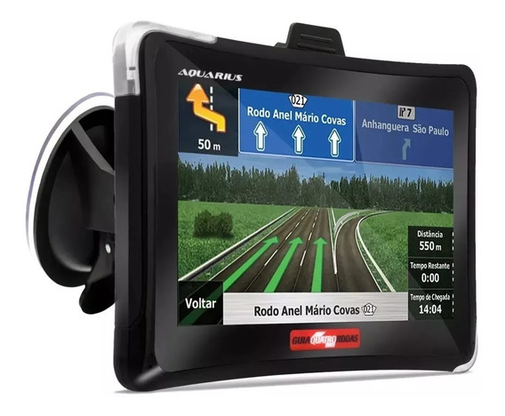 Gps Automotivo 4.3 Polegadas Touch Alerta Radar