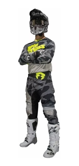 Equipo Rpmcross 2019 Warrior Pant 38-remera M -bmmotopartes