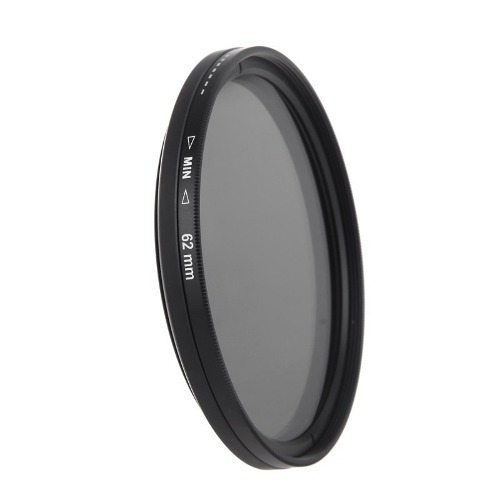 Filtro Nd 2-400 Variável Lente 62mm 62 Mm Canon Nikon Sony